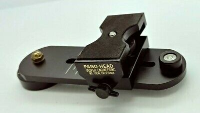 Vintage PANO HEAD by Jasper Engineering USA for PANORAMA PHOTOGRAPHY
