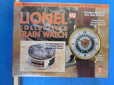 Lionel Collectible Train Watch sealed in the original box.