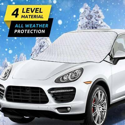 Car Magnetic Windshield Windscreen Cover Snow Ice Frost Wind Winter Protector