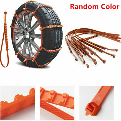Universal Car Truck SUV Anti-skid Chains Snow Tyre Tire Wheel Nylon Chain Belt