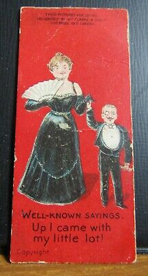 circa 1900 Clarke's Cigarette Card - Well Known Sayings = My Little Lot !