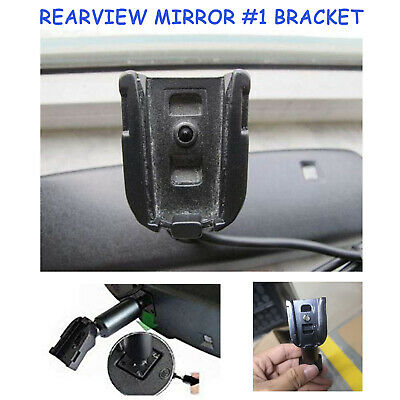 1Pc Black ABS Rear View Mirror Mounting Brackets For Buick 100MM*25MM*28MM