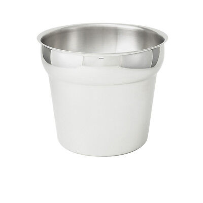 Winco INS-7.0M, 7-Quart Stainless Steel Inset
