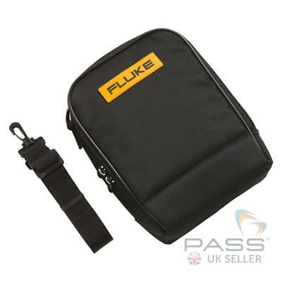Genuine Fluke C115 Soft Meter Case - Fits Two Meters, Incl. Pouch for Leads / UK