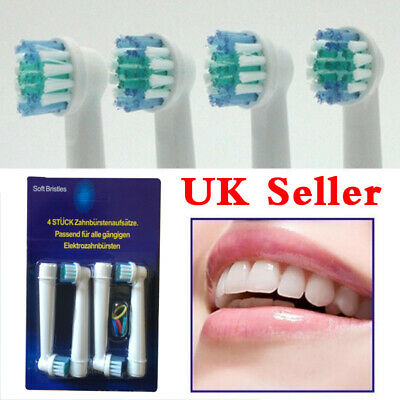 8 Pcs Precision Electric Toothbrush Replacement Brush Heads For Oral B Braun UK