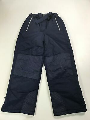 Kids Rodeo C&A Navy Blue Padded Salopettes Ski Snowboarding Trousers 140 Cm 10Y