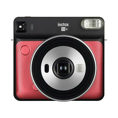 Fujifilm instax SQUARE SQ6 Instant Film Camera, Ruby Red #16608701