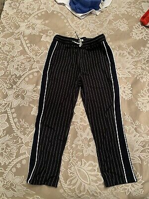 Boys River Island Pinstripe Trousers