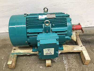 Brook Crompton Model IDN 30HP 208-230/460V 1770RPM 3PH Electric AC Motor