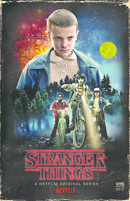 NEW Stranger Things Season 1 Collector's Edition: (Blu-ray + DVD) VHS Case