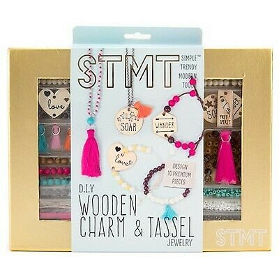 STMT Wooden Charm and Tassel Craft Kit