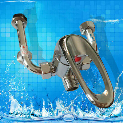 U-shaped Valve Mixed Hot and Cold Faucet Bathroom Faucet Electric Water Heater