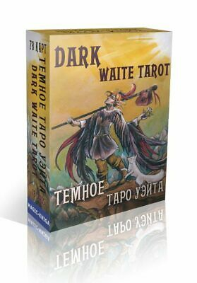 New Card Deck Dark Waite Tarot 78 Collection Russian Rare Deluxe Souvenir Gift