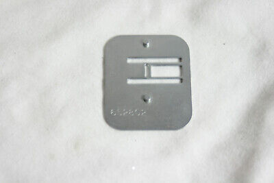Vintage KENMORE Sewing Machine Feed Cover Darning Needle Plate 652802