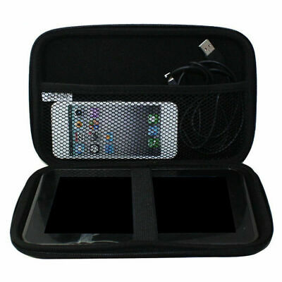 7 inch Black Protective Hard Carry Case GPS Cover For All TomTom Garmin SAT NAV