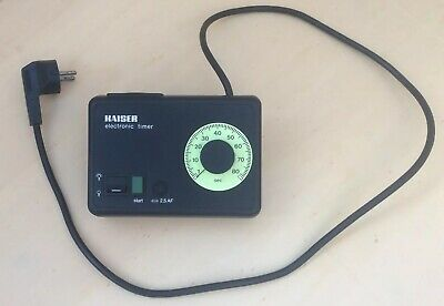 Kaiser Electronic Timer For Darkroom, Developing, Photography