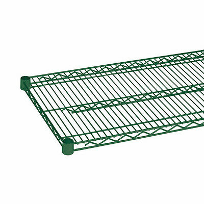PrestoWare MA2472GN, 24x72-Inch Green Epoxy Wire Shelf, NSF