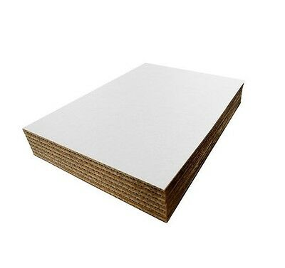 SafePro 28x18-Inch White Rectangular Corrugated Cardboard Pads,50-Piece Custodia