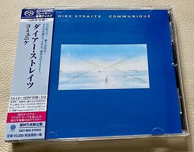Dire Straits Communique, Japan SHM SACD Super Audio CD UIGY-9635 Near Mint