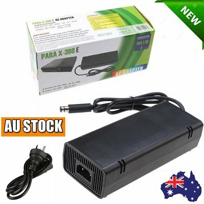 AC Adapter Charger Power Supply Cord for Xbox 360E Brick Game Console AU Plug 21
