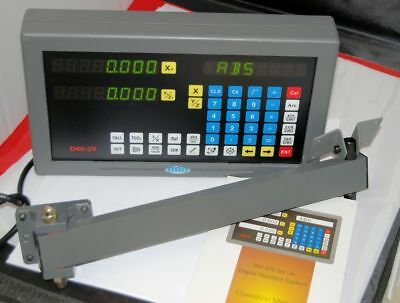 Multi Function Digital Readout Box 2 Axis For Lathe Milling Machine Etc