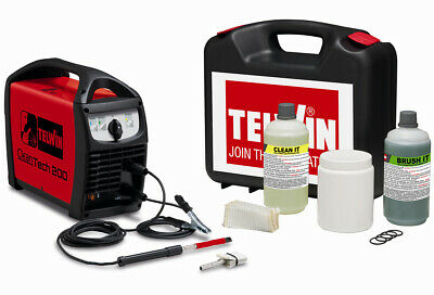 Telwin Cleantech 200 Stainless Weld Cleaner Kit, 230v