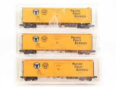 MICRO TRAINS 993 05 580 PFE WEATHERED 3 PACK MINT