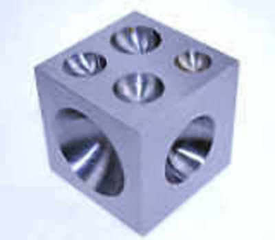 Steel Doming Dapping Block For Jewellers Etc