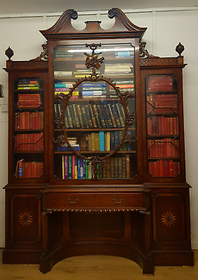 Rare Thomas Chippendale Violin Bookcase