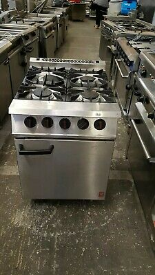 Falcon 4 burner Natural gas cooker commercial oven cooker heavy duty catering