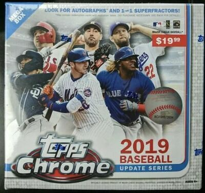 2019 Topps Chrome Update Baseball Sealed Mega Box 🔥🔥