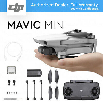 DJI MAVIC MINI DRONE - 12MP 2.7K HD Camera Gimbal. Model MT1SS5 5.725-5.850 GHz