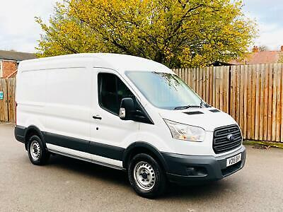 2015/15 Ford Transit T350 2.2 Tdci 155 Ps Fwd-L2 H2-Mwb M/Roof-Frozen White-Acon