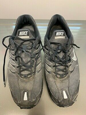 Nike Air Max Torch 4 Running Shoes Men's SZ 14 Black Gray Silver 343846 002 2018