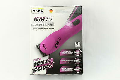 WAHL KM10 2 Speed Brushless Motor Professional Animal Clipper (Berry) - Used