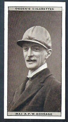Ogdens-Steeplechase Celebrities-#17- Top Quality Horse Racing Card!!!