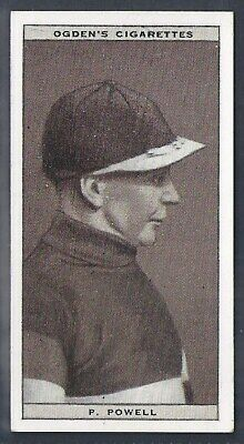 Ogdens-Steeplechase Celebrities-#34- Top Quality Horse Racing Card!!!