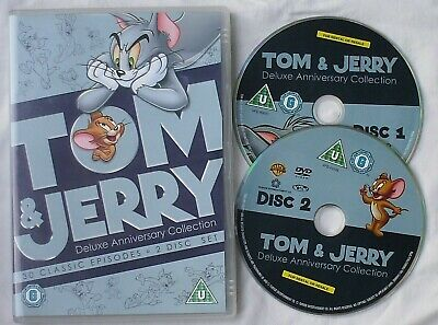 Tom And Jerry - 70th Anniversary Collection DVD   - 2 Discs