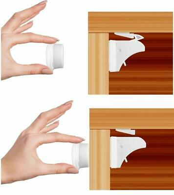 Baby Houdini Magnetic Locks - Baby Proofing for Cabinets, Drawers and More!