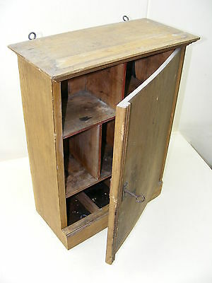 Old Apothecary Cabinet, Wooden Cabinet Medicine Cabinet Wardrobe for Medication