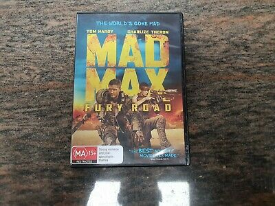 Mad Max Fury Road DVD R4 PAL