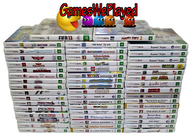 Nintendo 3DS Games G Rated Large Dropdown Selection