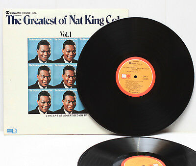 Nat King Cole The Greatest Of LP Vinyl Record Double Album SLB-6803 USA 1972