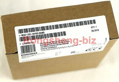 1PC Siemens 6ES7 331-1KF02-0AB0 6ES7331-1KF02-0AB0 New In Box