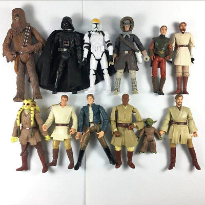"Random 5pcs Hasbro Star Wars Clone Wars Trooper Epic Battles 3.75"" Figure Gift"