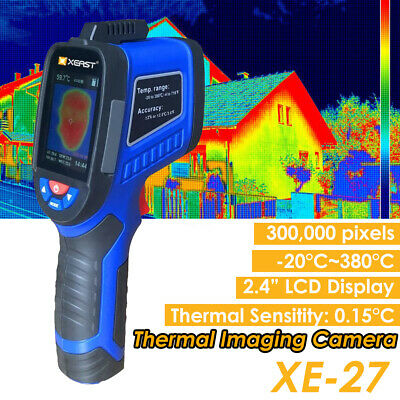 Handheld Infrared Thermal Camera Imager Thermometer IR Resolution LCD Screen