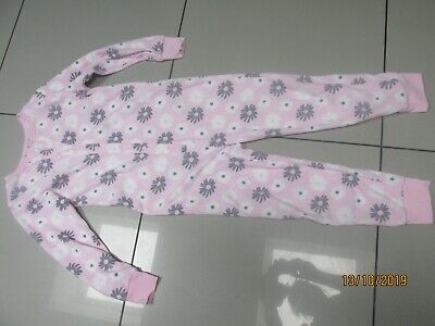 Girls Matalan pink One Piece Nightwear  Age 10-11 Years All In One Fleece