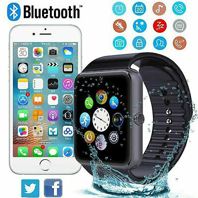 2019 Q18 GT08 Bluetooth Smart Watch para Android IOS iPhone Apple GSM GPRS