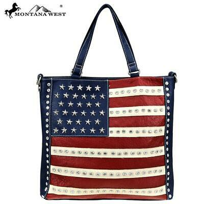 Montana West American Pride Collection Tote/Crossbody with wallet set