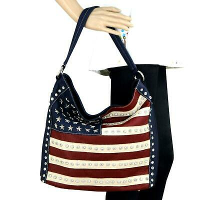 Montana West American Pride Collection Hobo bag and wallet set